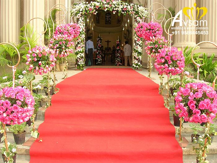 Marriage decorators in tiruvarur