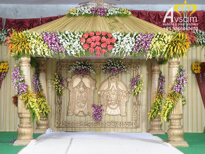 wedding stage decorators in karur
