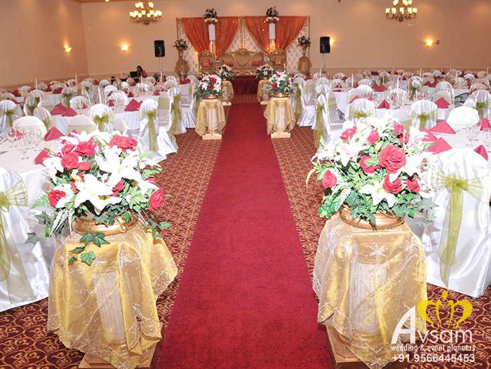 wedding stage decorators in